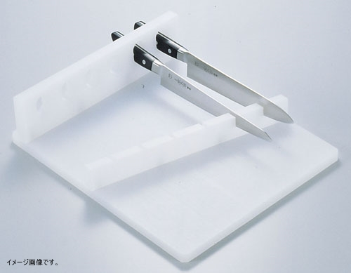 PE6本用水平式庖丁置き台