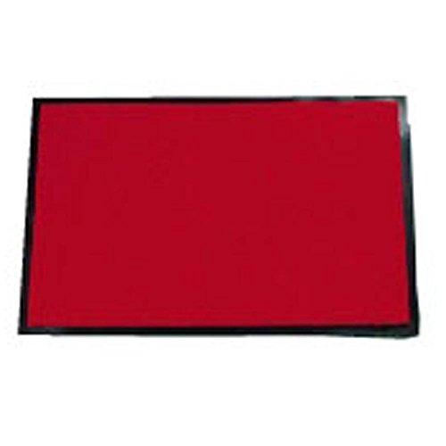 シルビアマット 900×1500mm 赤