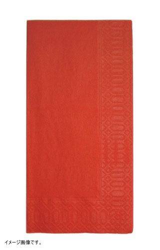 カラーナプキン 8ッ折(2,000枚入) 45cm 2P レッド