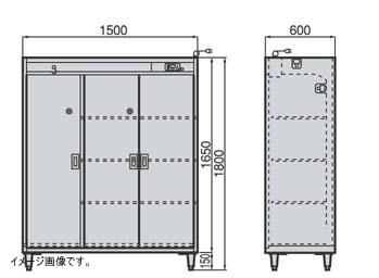 クリーンロッカー(靴・衣類用) F3140791