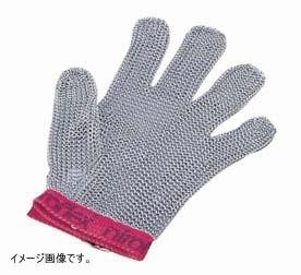 ニロフレックス メッシュ手袋5本指 L L5[青]