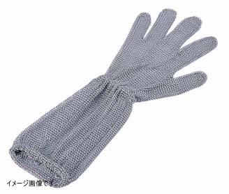 ロングカフ付 メッシュ手袋5本指 L LC-L5-MBO[3]