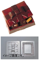デコレリーフ チョコレートモルド ボックス型 EU-648