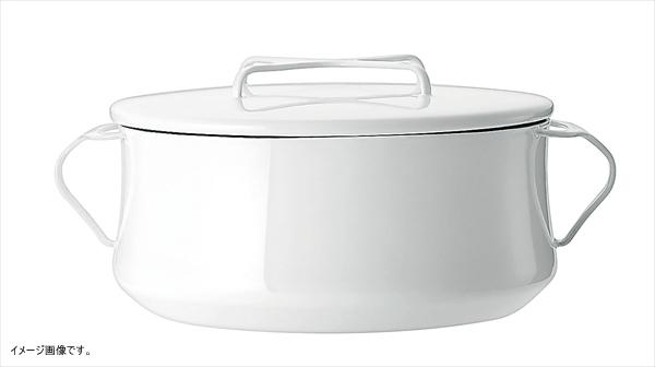 DANSK コベンスタイルII 両手鍋 18cm 白 833299