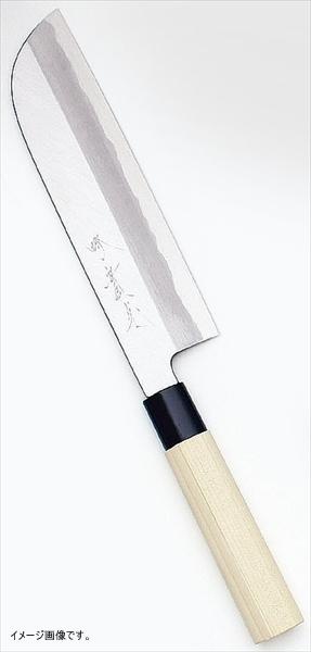 堺實光特製霞鎌薄刃(片刃) 22.5cm34356