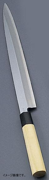 堺實光 匠練銀三 刺身(片刃) 24cm 37552