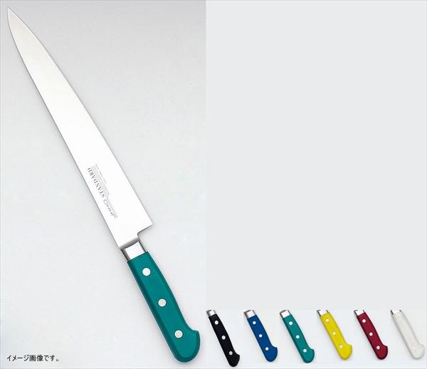 堺實光STD抗菌PC筋引(両刃) 27cm緑56052