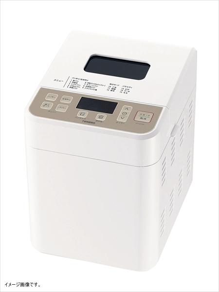 TWINBIRD 自動具入れ機能付 ホームベーカリー(0.5/0.8/1斤) ホワイト PY-E731W