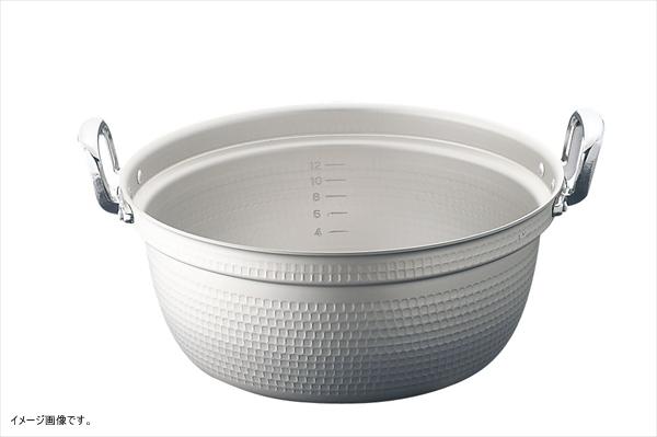 HOKUA(ホクア) マイスター アルミ極厚円付鍋 (目盛付)45cm AEV03045