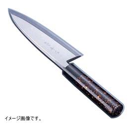 TKG 歌舞伎調和庖丁 忠舟 出刃 24cm 黒金茶 ATD0216
