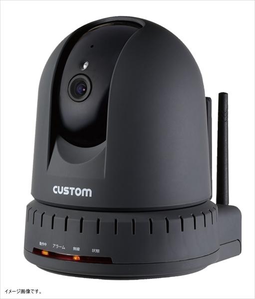 カスタム 【業務用】 カスタム 温湿度計センサー付IPカメラ IPC-01TH <BOVP101>