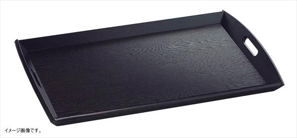 ヤマコー 新型脇取盆 黒(栓材) 大 17198