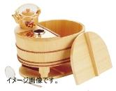 ヤマコー 椹・小判型湯豆腐セット 3人用 豆腐すくい・汁次付き 23105