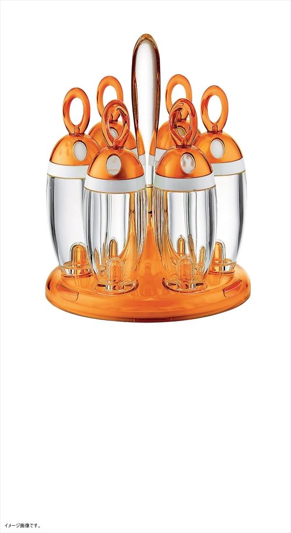 guzzini LATINA スパイスラック オレンジ 168100.45