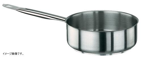 パデルノ 18-10 片手浅型鍋 (蓋無) 1008-28