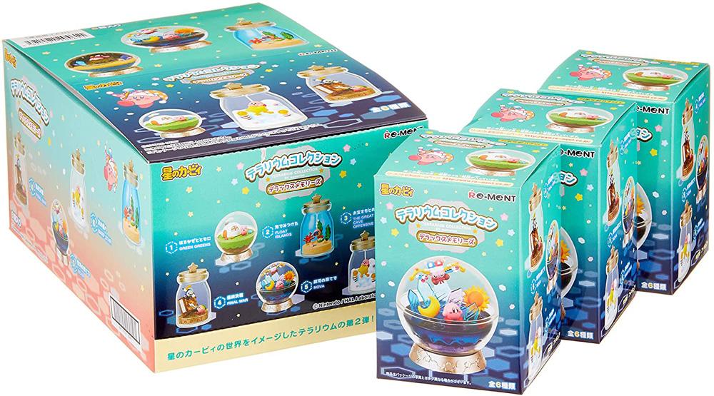 リーメント 星のカービィ テラリウムコレクション デラックスメモリーズ BOX商品 全6種類 大人買い 特売 インテリア RE-MENT BOX 再販 予約 予約商品:11月再販分 全国どこでも送料無料