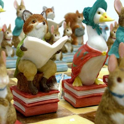 ※送料無料!※【The World of Beatrix Potter Chess Set】ピーターラビットのチェスセット
