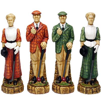※送料無料!※【歴史的なゴルファーが一堂に会しました】ヒストリー・オブ・ゴルフ・チェス