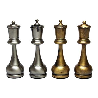 ※送料無料!※【クラシックなスタントンスタイル】イタリア製チェス駒 ペルシャン・クラシック 44B
