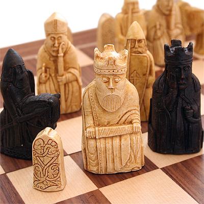 チェスセット ルイス(リューイス)島のチェスセット A102B~世界最古のチェスをリデザイン~
