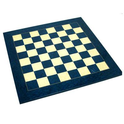 【SAC社製 木製チェスボード】チェスボード ブルー