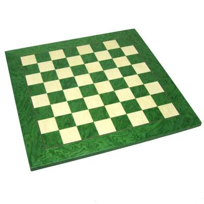 【SAC社製 木製チェスボード】チェスボード グリーン