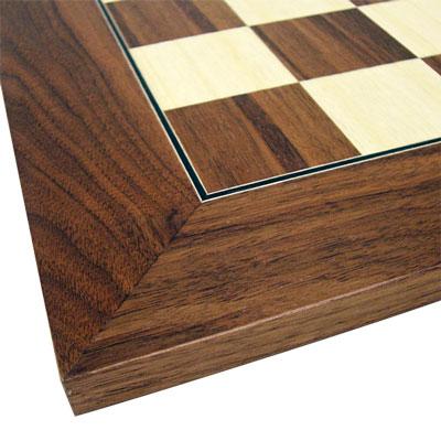 【ボードサイズ:600×600mm】チェスボード カエデ/クルミ 7846