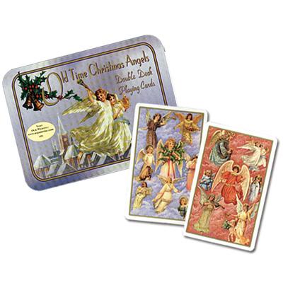 オリジナルは18世紀のポストカード ☆新作入荷☆新品 トランプ お得セット オールドタイムクリスマス ダブル