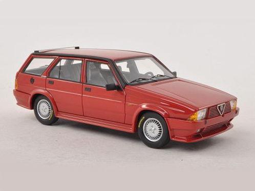 ミニカー NEO / ネオ アルファ・ロメオ 75 Turbo Wagon Rayton Fissore (1986) レッド