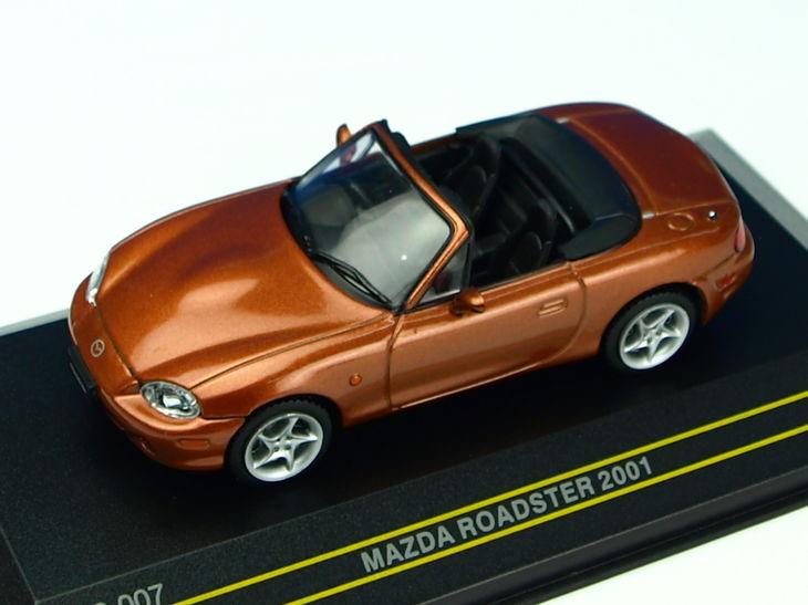 ミニカー First 43 / ファースト 43 マツダ ロードスター 2001 オレンジマイカ オープン
