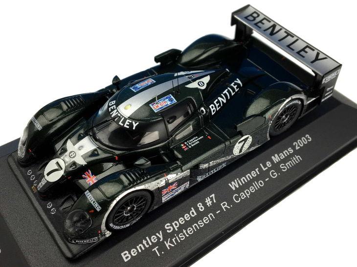 ミニカー ixo / イクソ ベントレー スピード8 03 ル・マン 24時間 優勝 汚レ仕様 Le Mans 24hr ルマン 24時間 レース