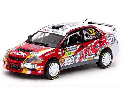ミニカー VITESSE / ビテス 三菱 ランサー エボリューション IX Winner PWRC Rally New Zealand Mitsubishi LANCER Evolution