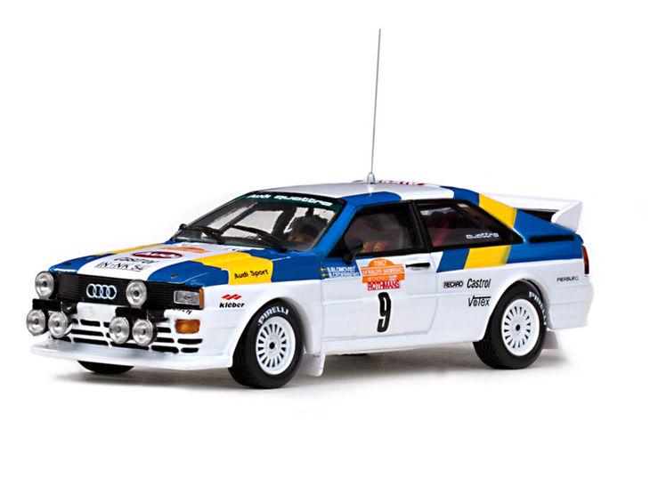 ミニカー VITESSE / ビテス アウディークアトロ ラリー 82 Winner Rallye Sanremo# 9 Audi