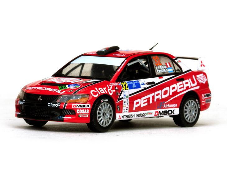ミニカー VITESSE / ビテス 三菱 ランサー エボリューション X 12 2nd PWRC Rally Guanajuato Mitsubishi LANCER Evolution