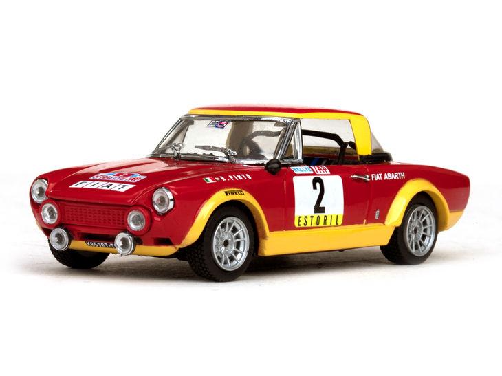 ミニカー VITESSE / ビテス フィアット 124 アバルト ラリー 74 Winner Rallye of Portugal # 2