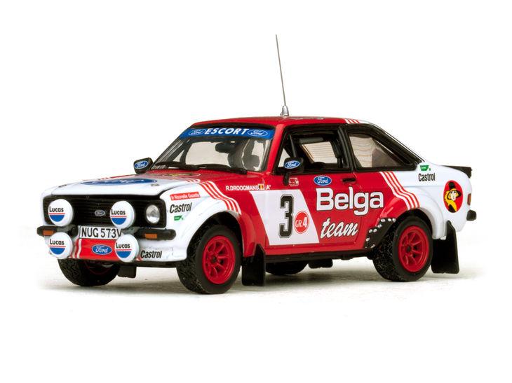 ミニカー VITESSE / ビテス フォード エスコート RS1800 82 Bianchi Rally # 3 R. Droogmans