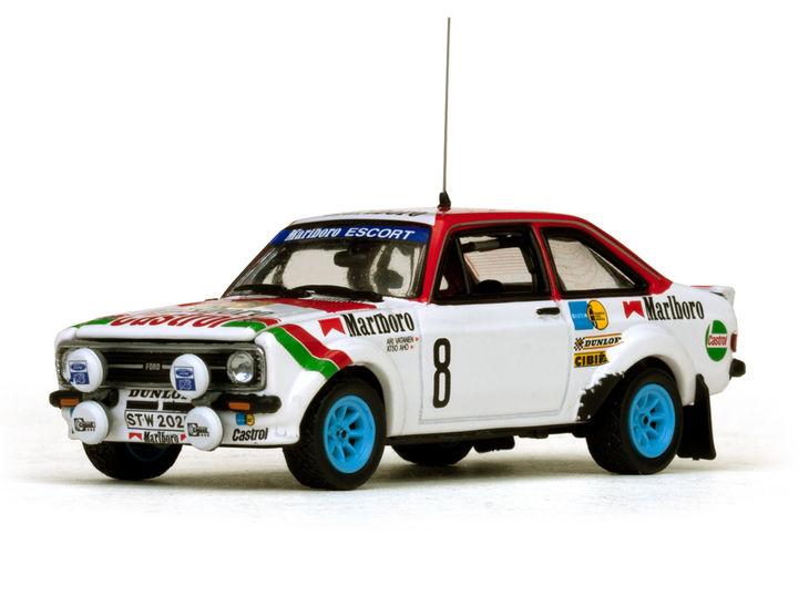 ミニカー VITESSE / ビテス フォード エスコート RS1800 78 International Swedish Rally