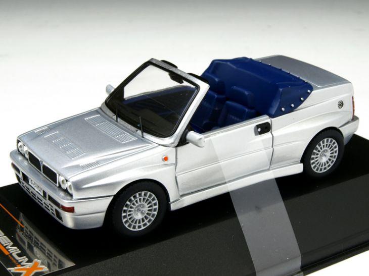 ミニカー Premium-X / プレミアムX ランチア デルタ インテグラーレ カブリオ 1992 シルバー