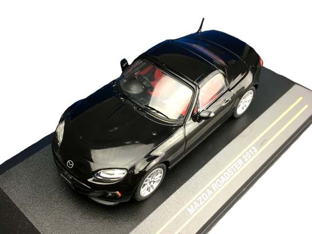 ミニカー First 43 / ファースト 43 マツダ ロードスター 2013 ブリリアントブラック