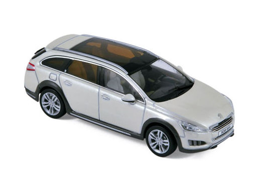 ミニカー NOREV / ノレブ プジョー 508 RXH 2012 ホワイト