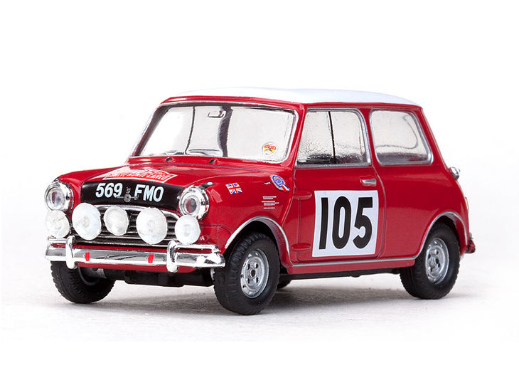 ミニカー VITESSE / ビテス モーリス クーパー 64 7th Rallye Monte Carlo # 105