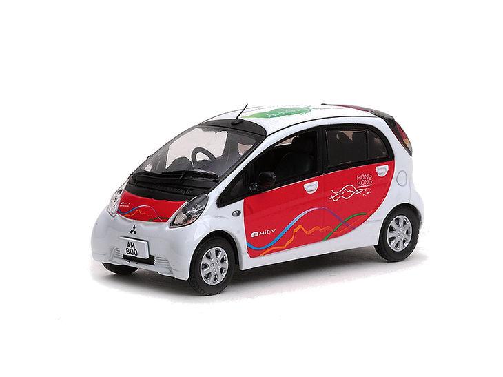 ミニカー VITESSE / ビテス 三菱 i MiEV ホンコン モデル ホワイト ソリッド