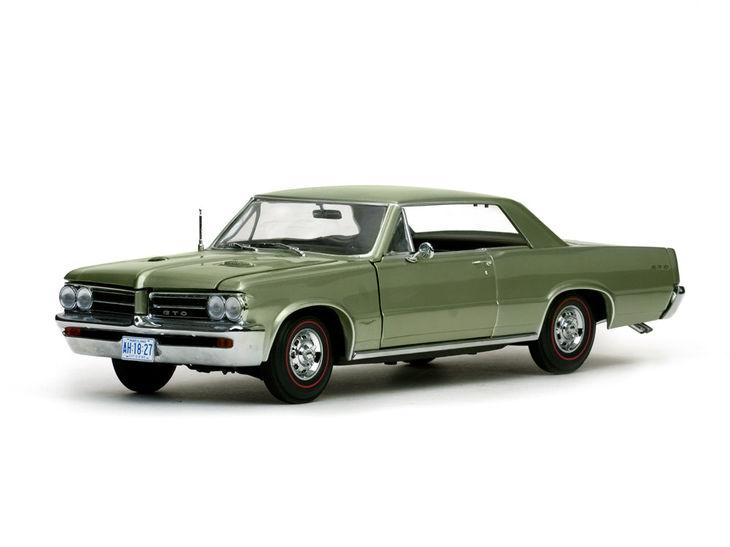 ミニカー SunStar / サンスター ポンティアック GTO 1964パインハーストグリーン