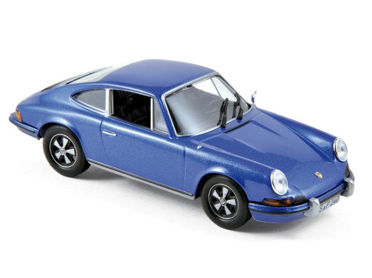 ミニカー NOREV / ノレブ ポルシェ 911 S 2.4 1973 ブルーメタリック Porsche