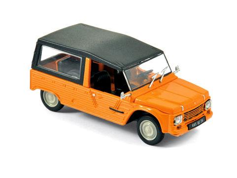ミニカー NOREV / ノレブ シトロエン メアリ 1978 キルギスオレンジ