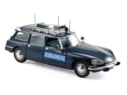 ミニカー NOREV / ノレブ シトロエン ブレーク 21 1974 州警察