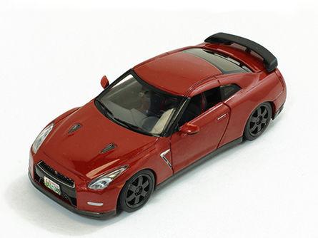 ミニカー Premium-X / プレミアムX 日産 GT-R ブラックエディション 2014 メタリックレッド