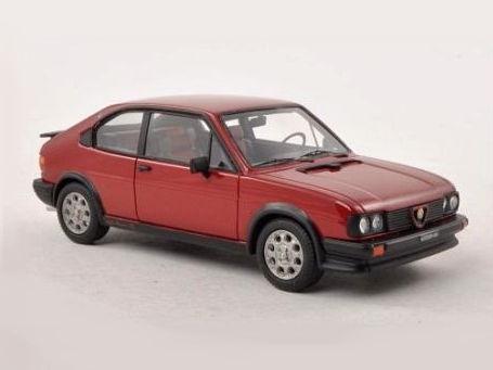 ミニカー NEO / ネオ アルファ・ロメオ Alfasud Ti 1.5 Quadrifoglio Verde (1980) レッド