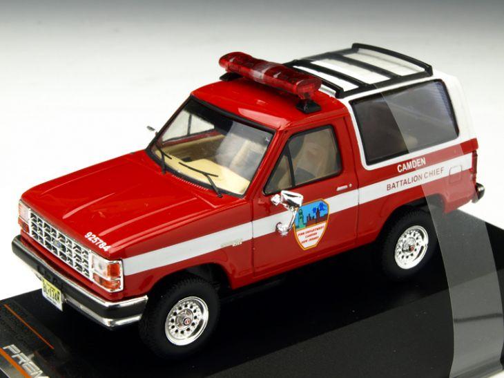 ミニカー Premium-X / プレミアムX フォード ブロンコ II 1989 ニュージャージー カムデン消防署