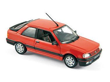 ミニカー NOREV / ノレブ プジョー 309 GTI 1987 レッド